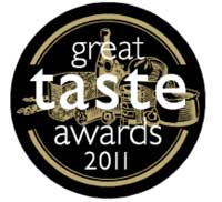 Great Taste Award 2011 con